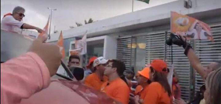 Video briga na carreata de Cida RC aponta fiscal