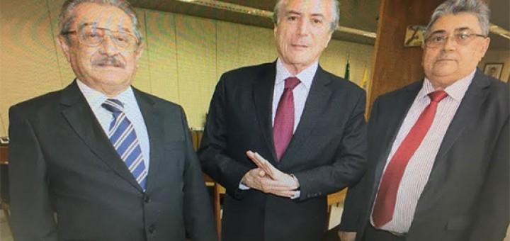 Maranhão, Temer e Antônio Souza