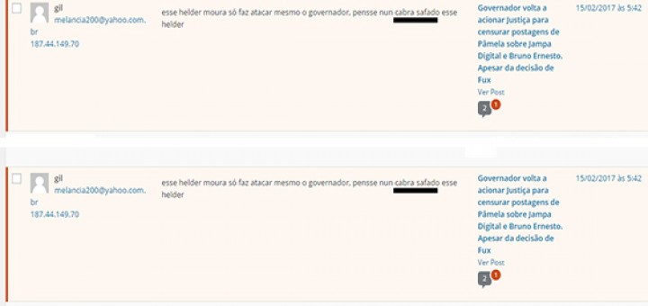Fake girassol ataca o Blog 15fev2017