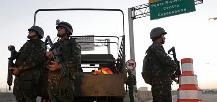Forças Armadas nas ruas