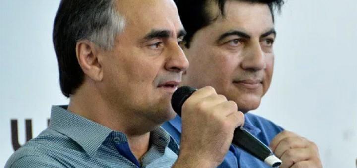 Luciano Cartaxo e Manuel Júnior