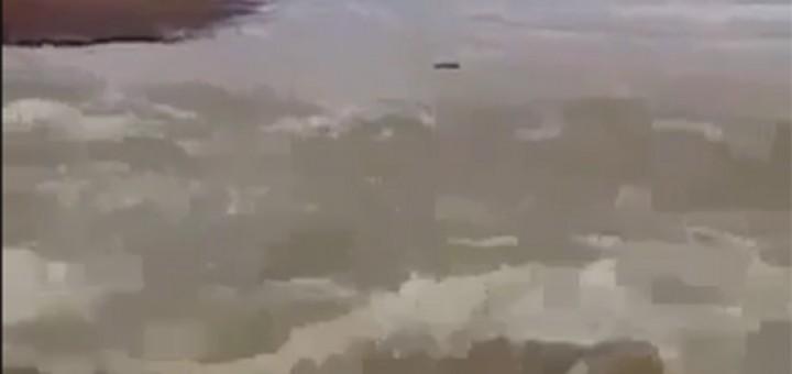 Video águas do São Fransisco chegando fev2017
