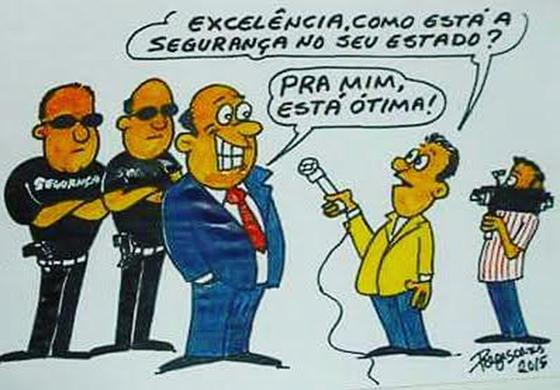 Régis Soares charge da segurança