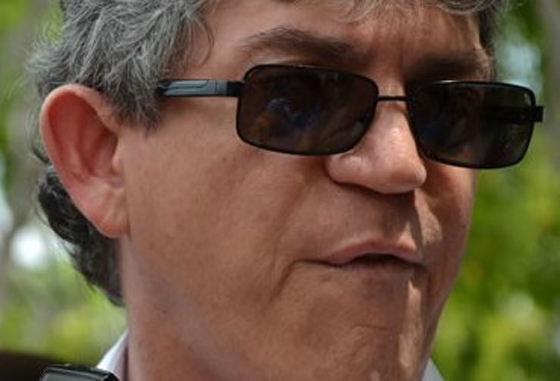 Ricardo Coutinho zangado