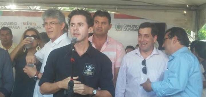 Veneziano e Ricardo Coutinho em Alcantil 13mar2017