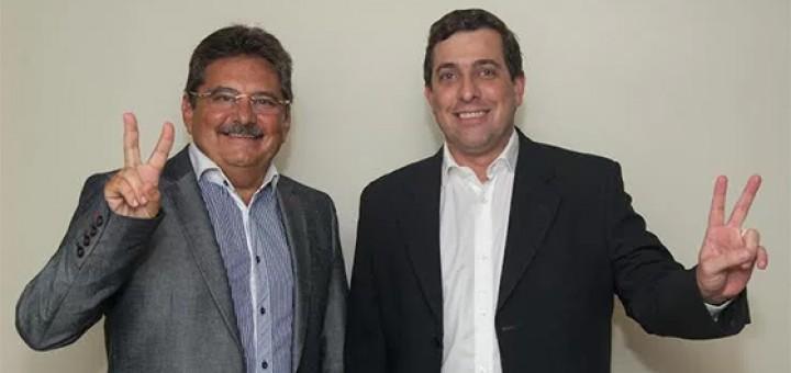 Adriano Galdino e Gervásio Filho 6mar2017