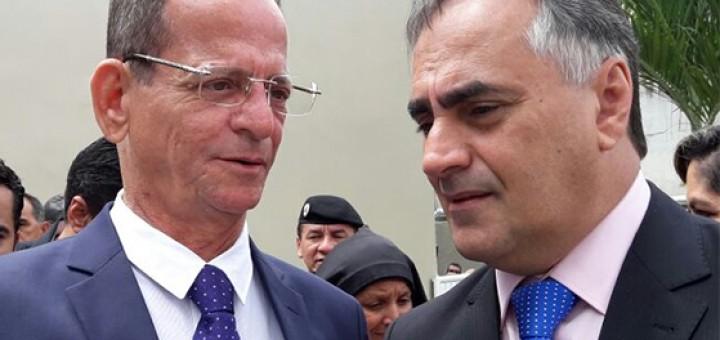 Luciano Cartaxo e Marcos Vinicius