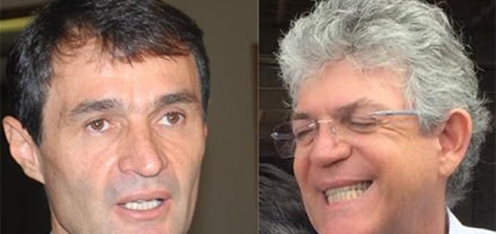 Romero Rodrigues e Ricardo Coutinho