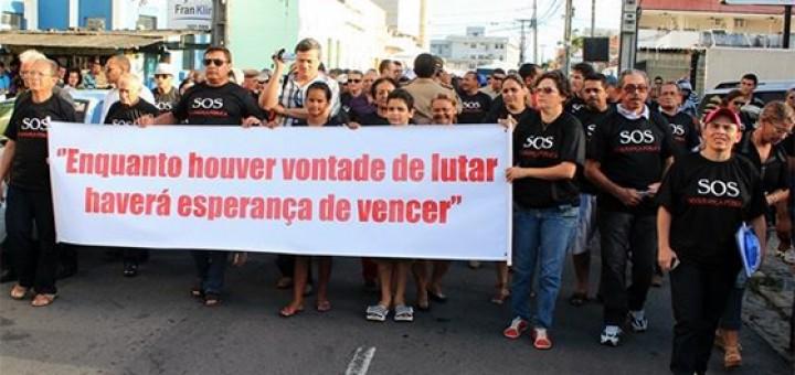 Assemp protesto