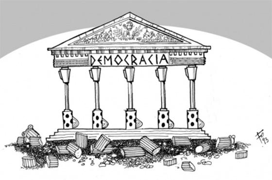 Democracia pilares