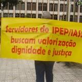 Ipep servidores protesto