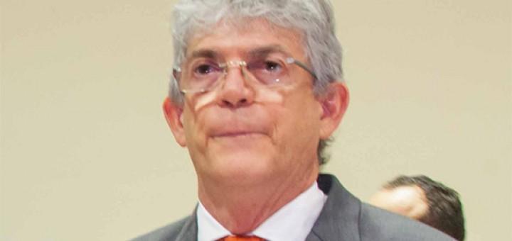 Ricardo Coutinho com a boca murcha