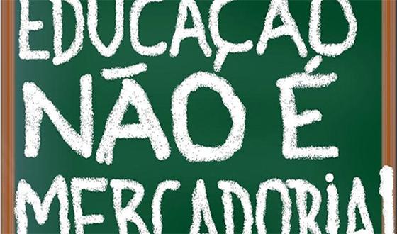 Educação não é mercadoria