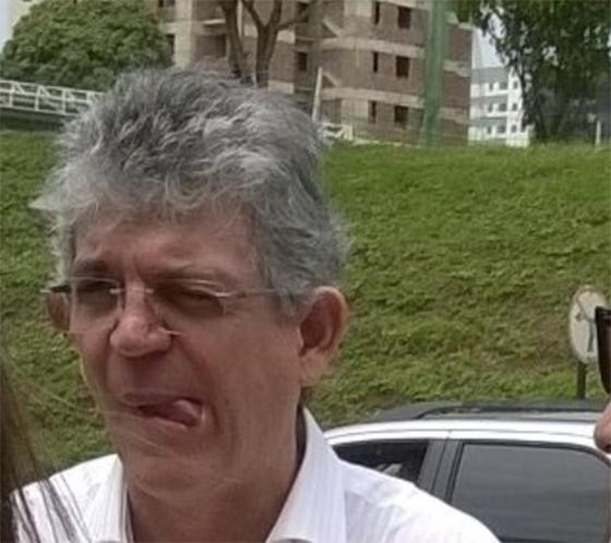 Ricardo Coutinho cara torta02