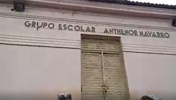 Video escola Antenor Navarro em Guarabira