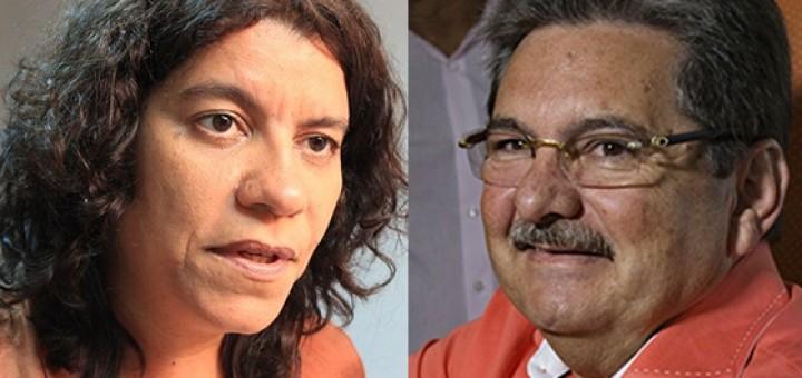 Estela Bezerra e Adriano Galdino