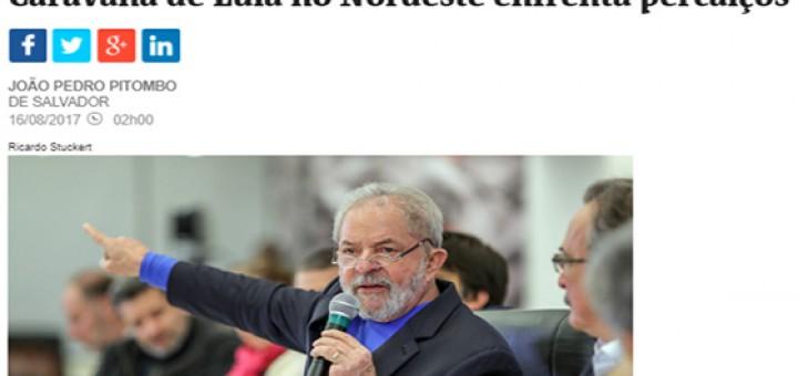 Lula e a caravana ago2017
