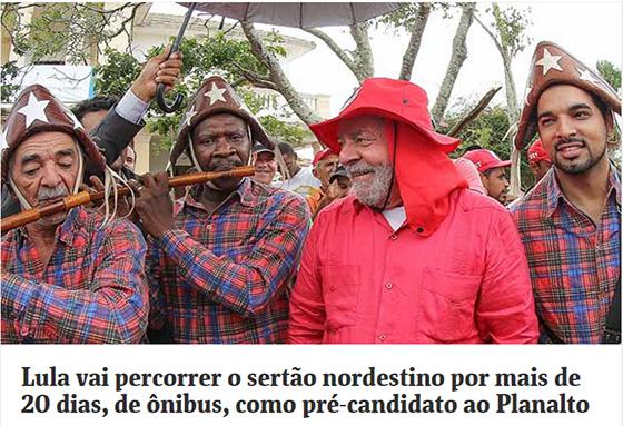 Lula virá ao Nordeste ago2017