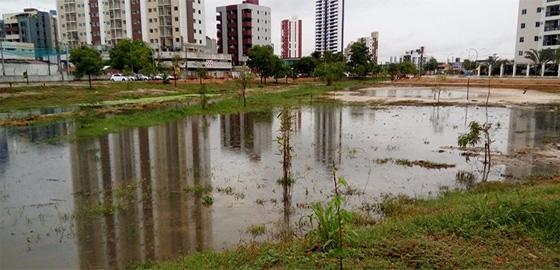Parque Parahyba alagado