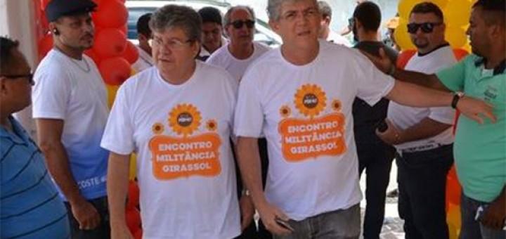 Ricardo Coutinho e João Azevedo