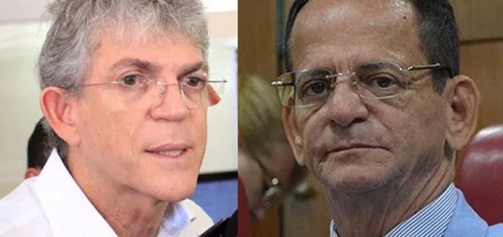 Ricardo Coutinho e Marcos Vinicius