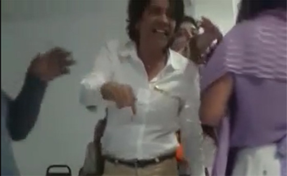 Video Briga no PSB com Estela