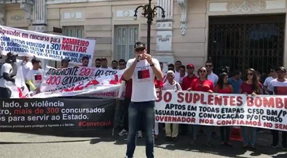 Video concursadosda PM nas ruas 21ago2017