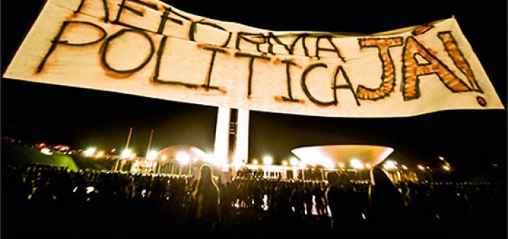 reforma política já