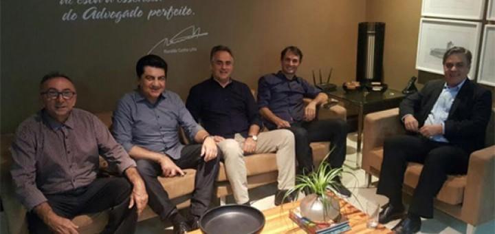 Luciano, Romero, Manuel Jr e Cássio 15set2017