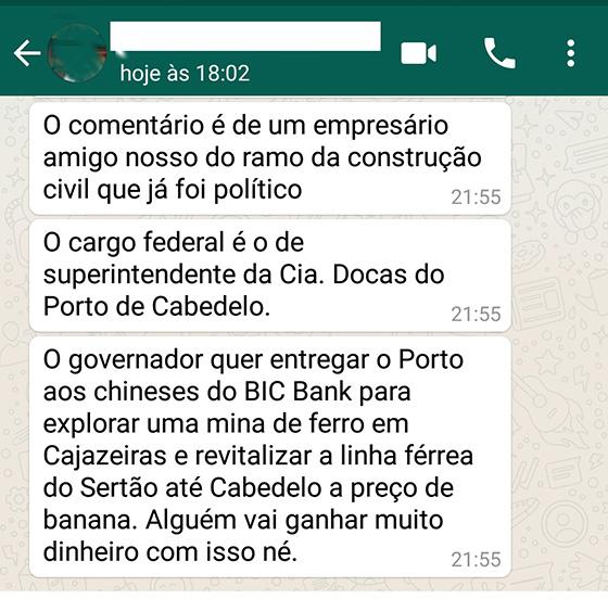 Porto de Cabedelo privatização