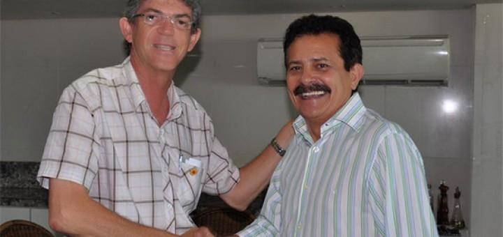 Tião Gomes e Ricardo Coutinho