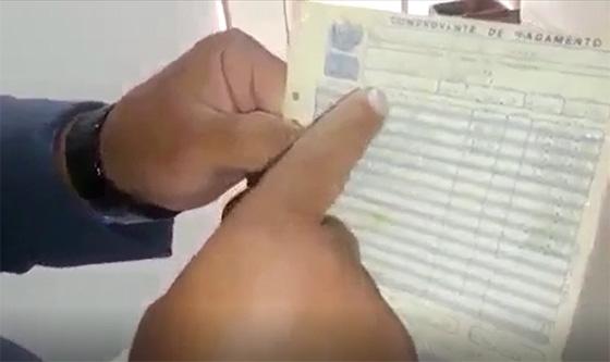 Video capitão denuncia PM2 contracheque