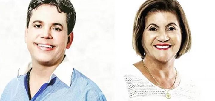 Fábio Fernandes e Maria Eunice Mamanguape