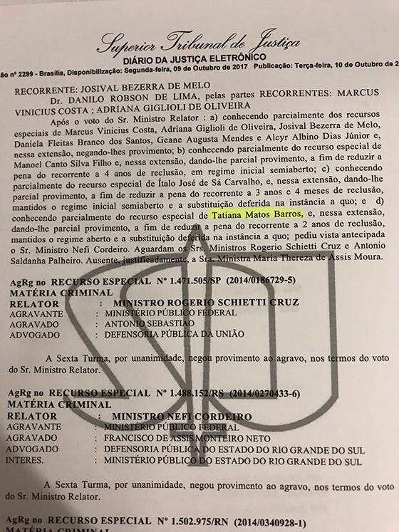 Governo nomeia delegada condenada STF2