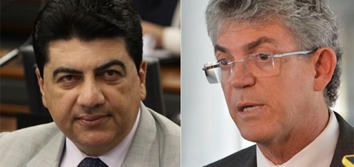 Manuel Júnior e Ricardo Coutinho