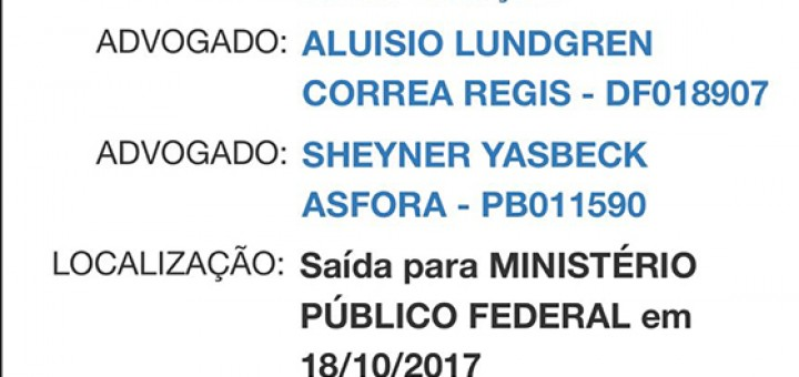 Caso Bruno Ernesto petição Aluízio