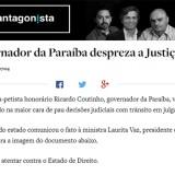 O antagonista RC desrespeita a Justiça