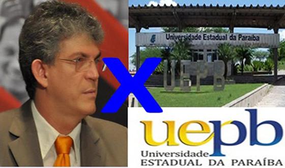 Ricardo Coutinho versus uepb