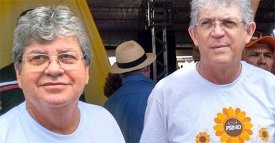 João Azevedo e Ricardo Coutinho