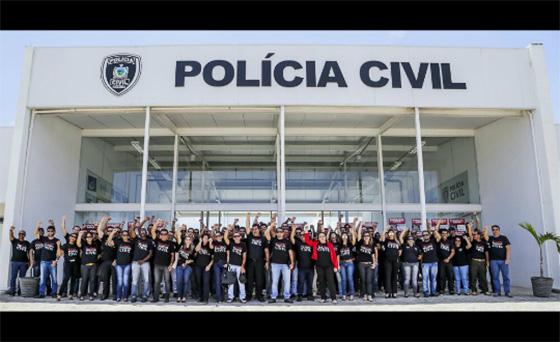 Policiais civis da PB