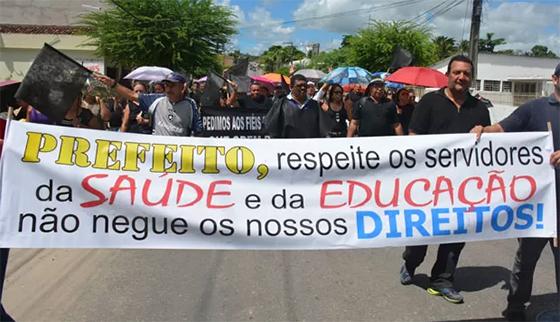 Santa Rita servidores se mobilizam dez2017