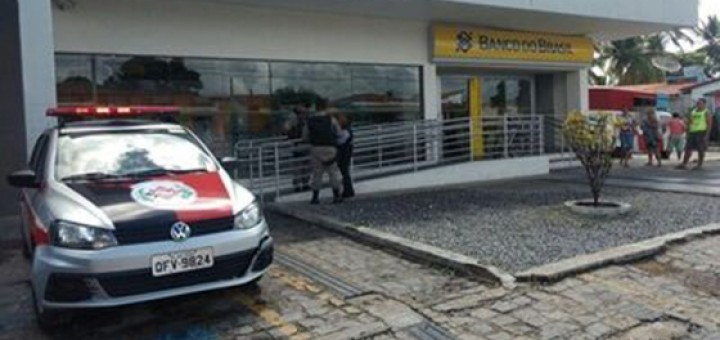 Assalto a banco Cabedelo 15jan2018