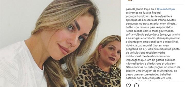 Pâmela RC primeiro governador citada Maria Penha03