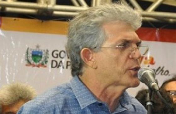 Ricardo Coutinho fazendo biquinho