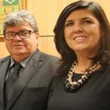 João Azevedo e Lígia Feliciano