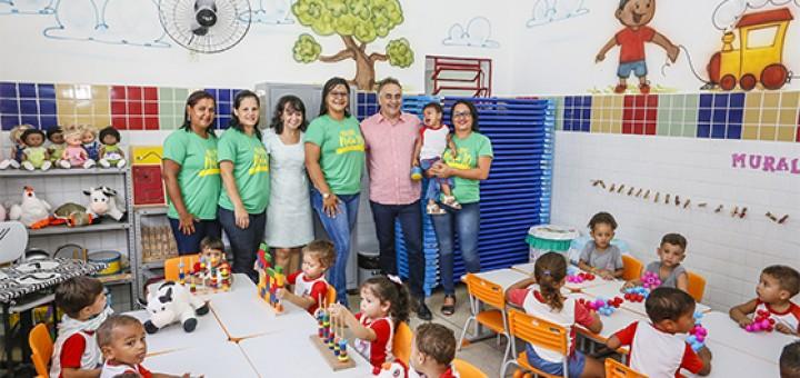 Luciano Cartaxo entrega 54a creche fev2018