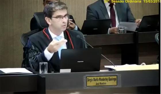 Juiz Sérgio Murilo do TRE