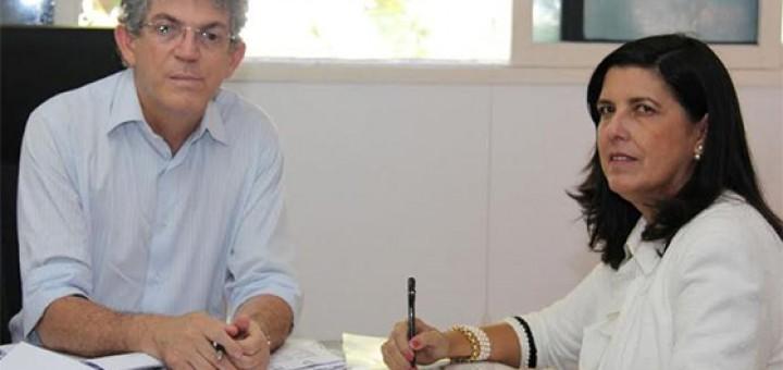 Ricardo Coutinho e Lígia