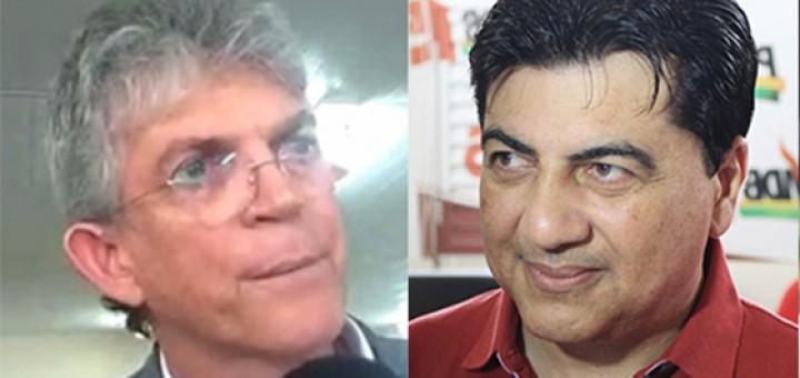 Ricardo Coutinho e Manuel Júnior