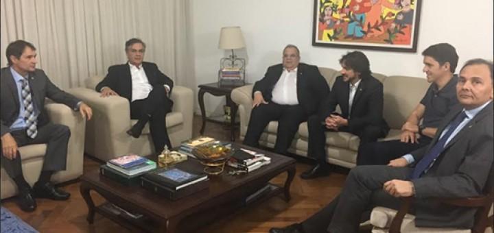Romero reunião em DF 15mar2018